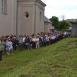 До тарноруди прийшло близько 6 00 паломників
