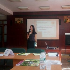 Аліна Коваль, секретар міської ради Волочиської ОТГ.
